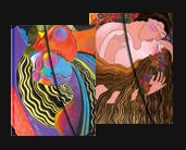 Laurel Burch The Lovers